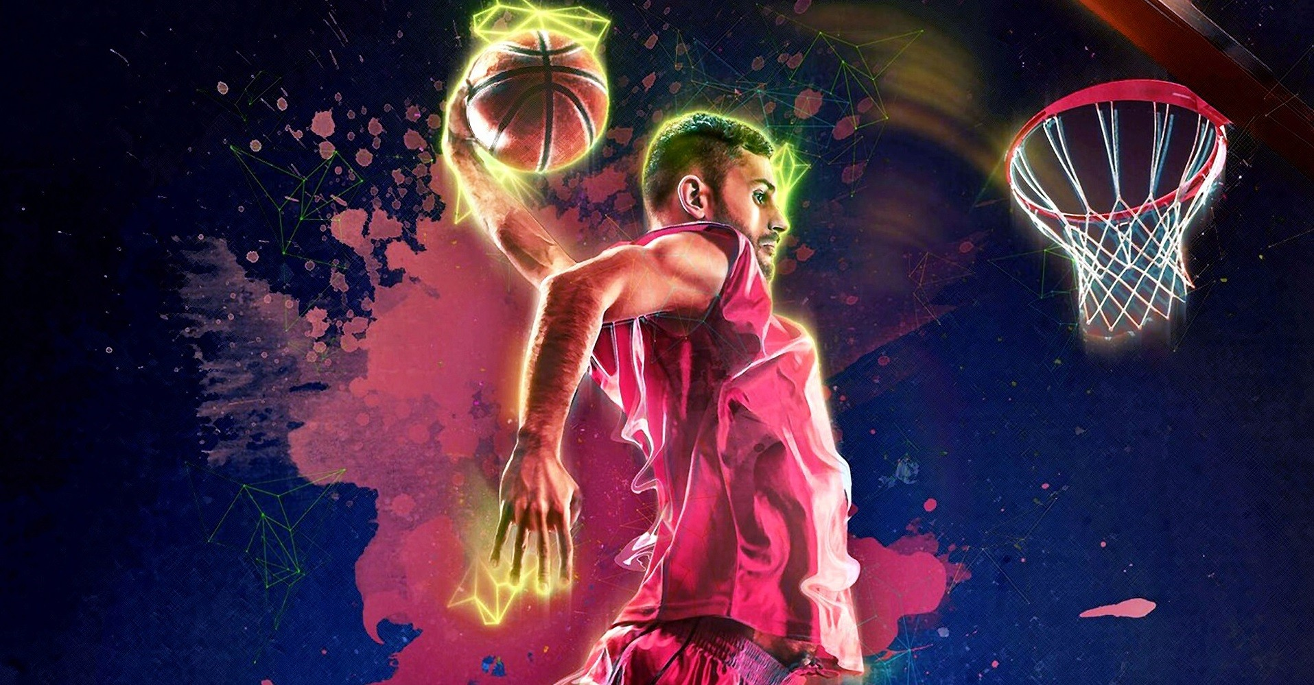 Центровой игрок в баскетболе