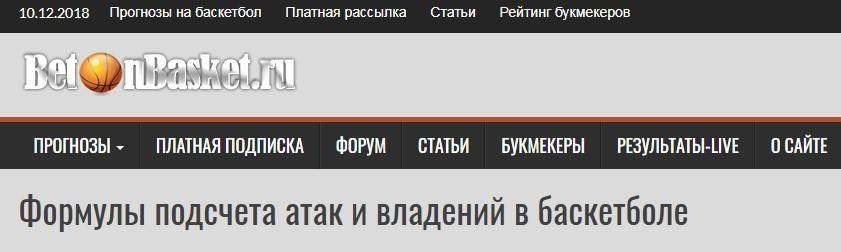 Итоги по проекту Бетонбаскет