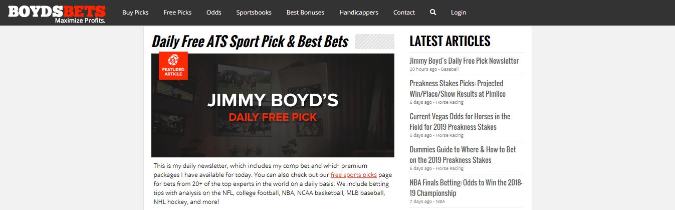 Обзор капперского проекта от boyds bets