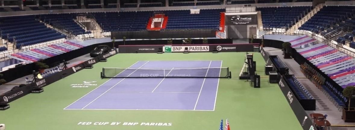 Размер теннисного корта для большого тенниса