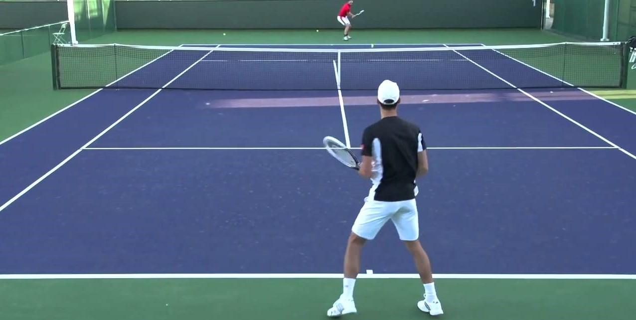 Пример стратегии на теннис