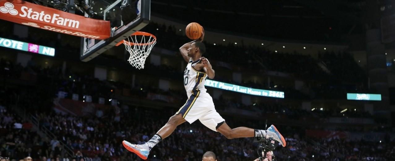 Двухочковый бросок в баскетболе
